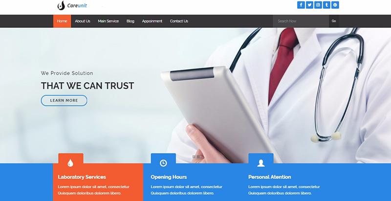 10 thèmes WordPress pour créer le site internet d'une formation hospitalière
