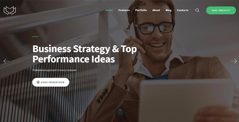 Deviox themes wordpress creer site web internet entreprise pme startup