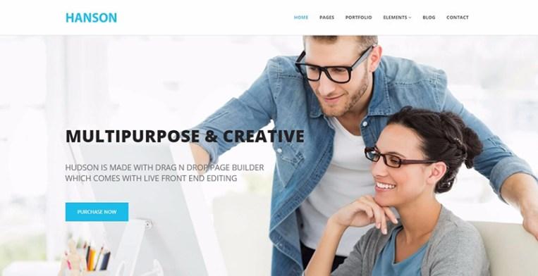 Temas de 25 WordPress para crear un sitio web moderno | BlogPasCher