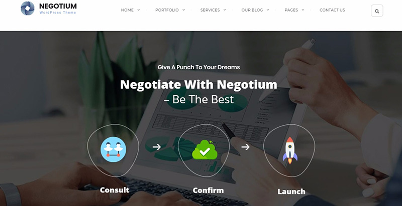 10 thèmes WordPress pour créer un site web d'entreprise