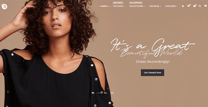Rigid themes wordpress creer boutique en ligne e commerce woocommerce