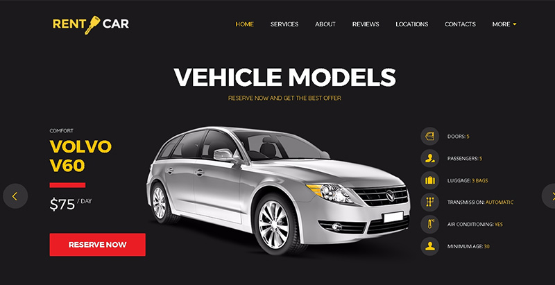 Wheelsberrythemes wordpress creer site internet concessionnaire automobile garage mecanicien