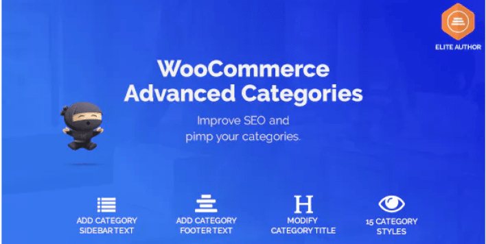 Woocommerce advanced seo categories plugin wordpress