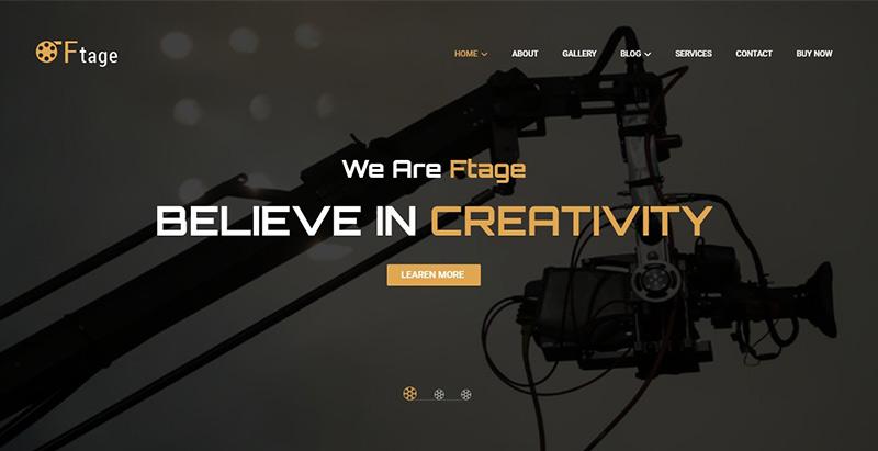 Ftage themes wordpress creer site web agence marketing entreprise