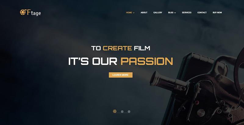 Ftage themes wordpress creer site web cinema film video