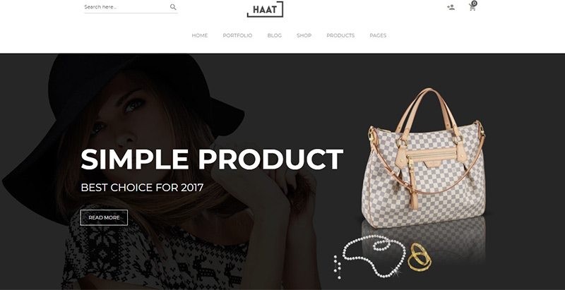Haat themes wordpress creer site ecommerce boutique en ligne