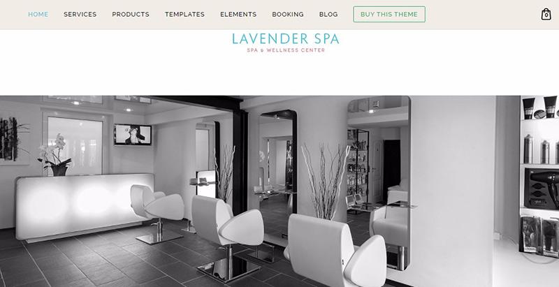 Wp Beauty-Themen WordPress erstellen Website Internet Spa Salon Massage