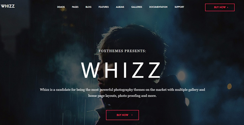 10 WordPress Themes zum Erstellen eines Fotografen Website | BlogPasCher