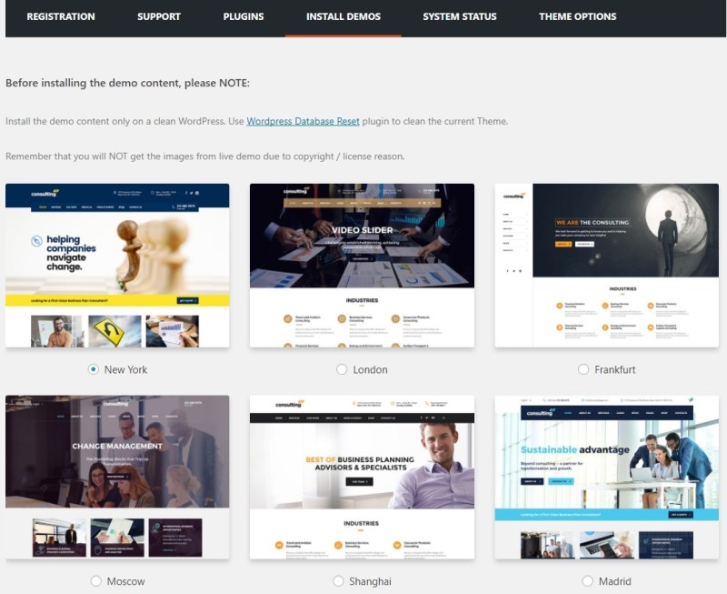 WordPress Consulting WP Theme Review | BlogPasCher