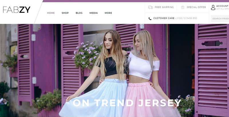 Fabzy themes wordpress creer site internet ecommerce vente en ligne