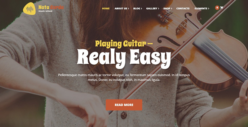 Notacorda themes wordpress creer site internet elearning education formation