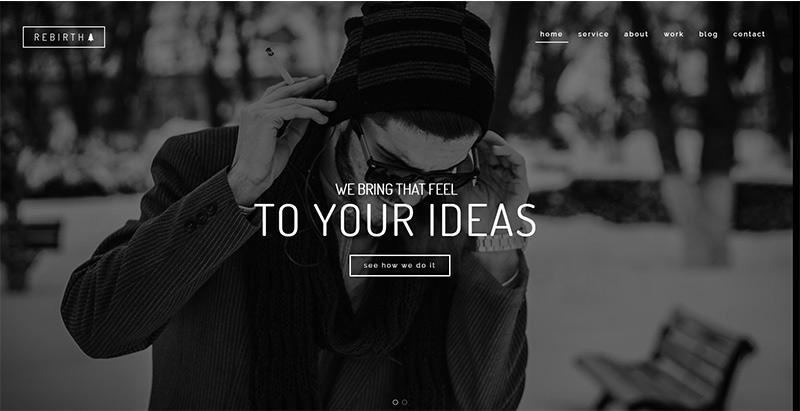 Rebirththemes wordpress creer site internet freelance