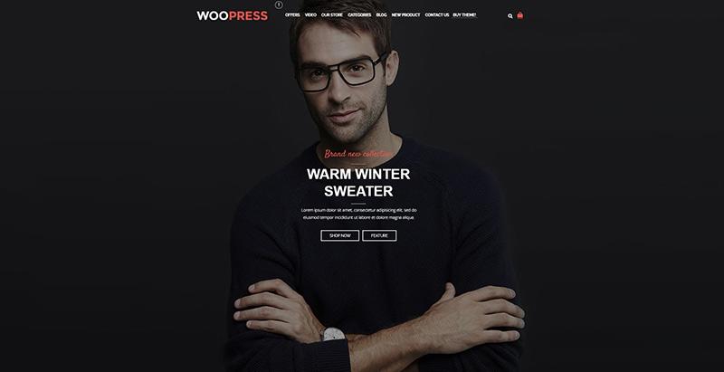 Woopress themes wordpress creer boutique ligne ecommerce achat vente en ligne