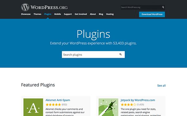 WordPress eklentisi hatası WordPress.png