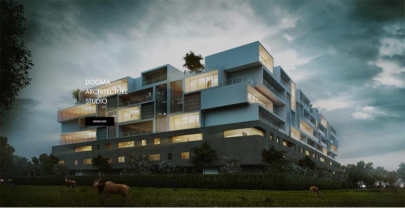 Dogma themes wordpress creer site internet architecte cabinet architecte