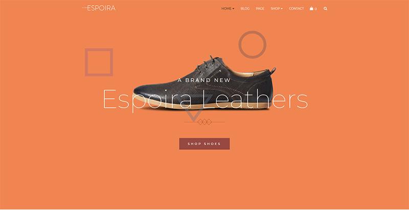 Espoira themes wordpress creer site web e commerce boutique en ligne store