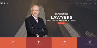 Advogado Wpthemes Wordpress Criar Site Escritório de Advocacia Advogado Juiz Notário