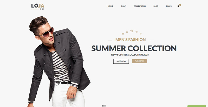 Loja themes wordpress creer boutique ligne site web