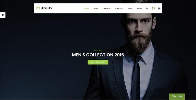 Luxury themes wordpress creer boutique ligne site web