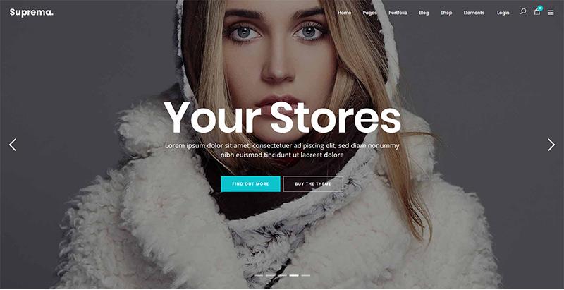 Suprema themes wordpress creer boutique ligne ecommerce e commerce