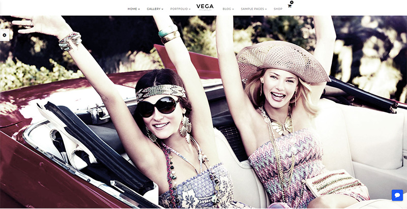 Vega themes wordpress creer site internet agence photographique