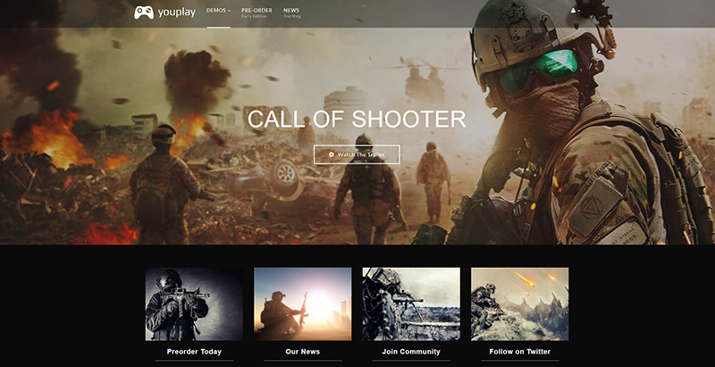 Youplay themes wordpress creer site internet esport jeux videos
