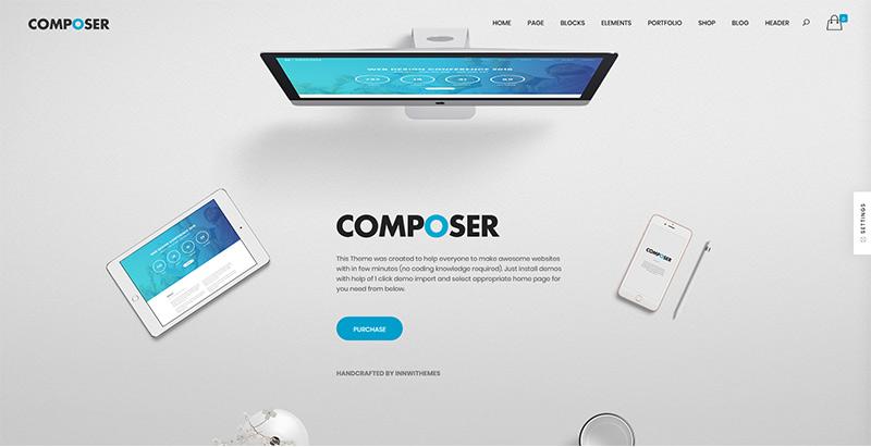10 WordPress temas para crear una página web corporativa | BlogPasCher