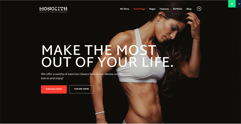 Ester Themes Wordpress Creer Site Web Club Fitness Gym Sport
