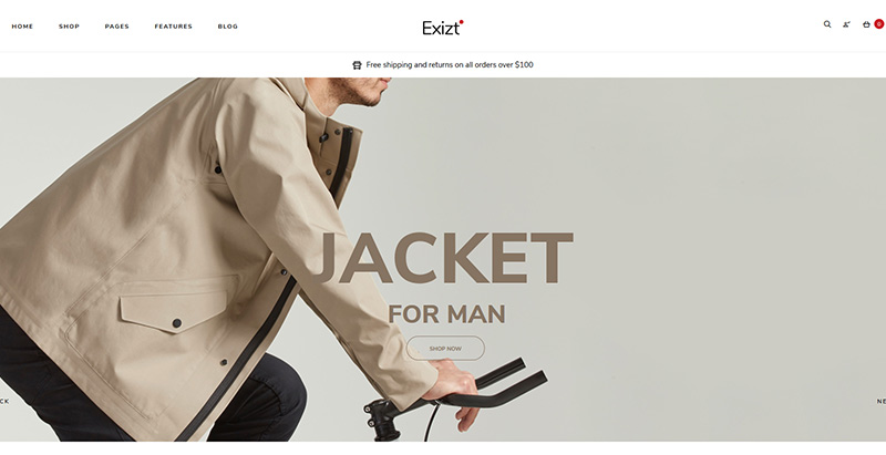Exizt themes wordpress creer boutique en ligne marketplace