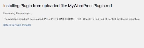 installation de thème WordPress