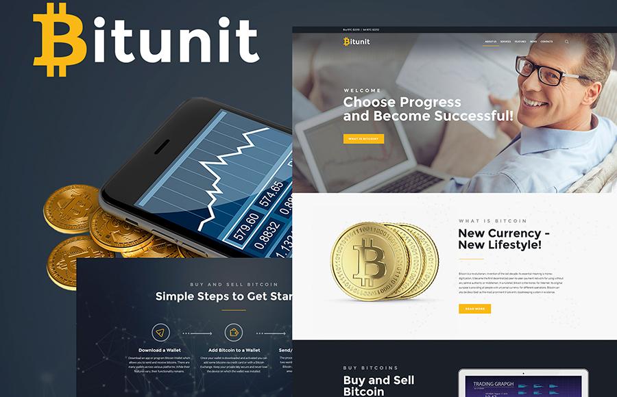 thème WordPress pour site de crypto-monnaie Bitcoin