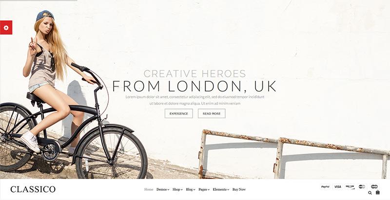 Classico themes wordpress woocommerce creer site web e commerce
