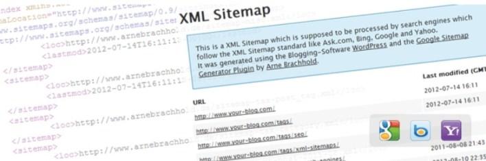 Google sitemaps xml