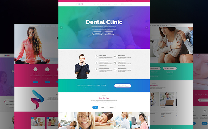MedLab - Theme WordPress medical polyvalent