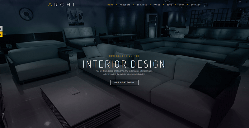 Archi themes wordpress creer site web architectes creatif architecture