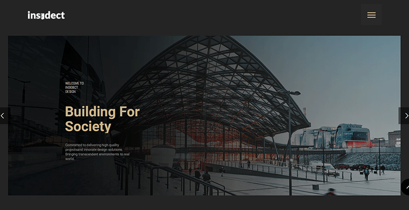 Temas de 10 WordPress para crear un sitio web de arquitecto ...