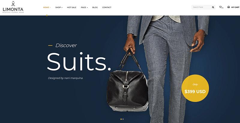 meilleurs thèmes WordPress premium pour créer un site web d'e-Commerce
