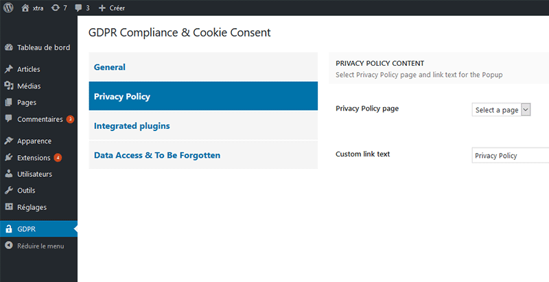Gdpr compliance cookie consent 2