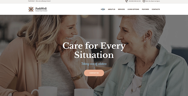 Pathwell themes wordpress creer site web centre sante clinique medecin