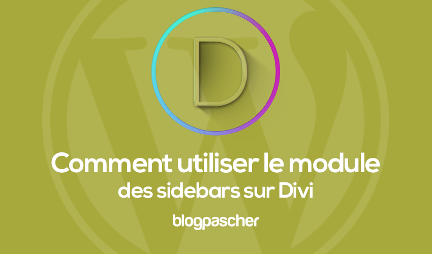 How to use the sidebars module on divi