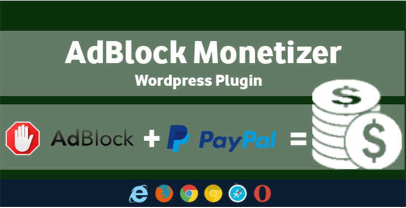 Adblock monetizer