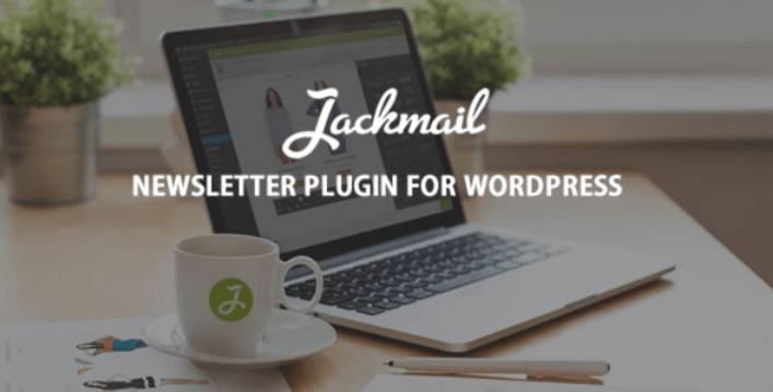 Jackmail plugins wordpress creer newsletter site web