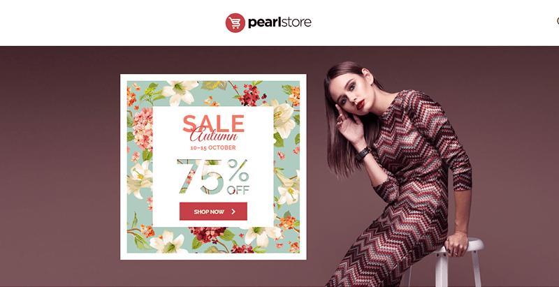 Pearl themes wordpress creer site web e commerce