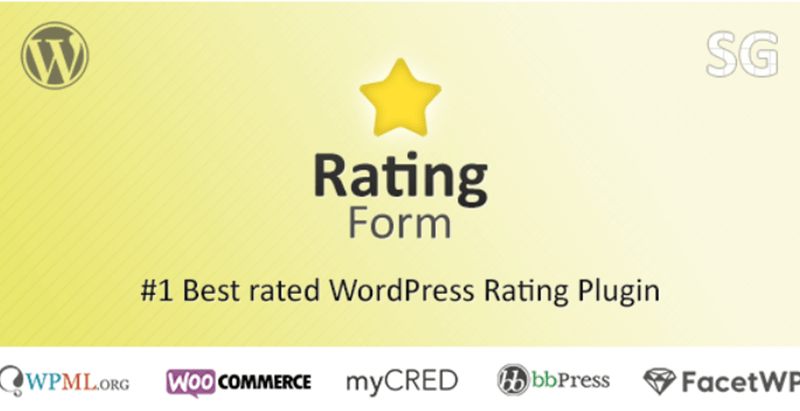 Rating form plugins wordpress recueillir avis utilisateurs