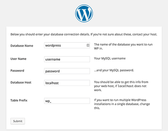 wordpress.png yükleme dosyası oluşturma