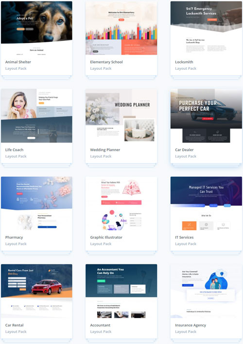 Divi theme wordpress tutorials tutoriels formation guide templates layouts