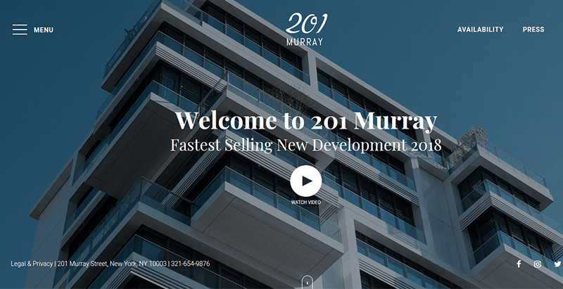 201 murray real estate theme wordpress immobilier