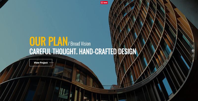 Builday theme wordpress creer site web entreprise architecte construction
