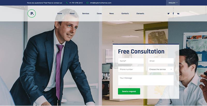 Pearl theme wordpress créer site web entreprise