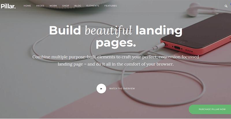 Temas de 10 WordPress para crear un sitio web de negocios creativos ...